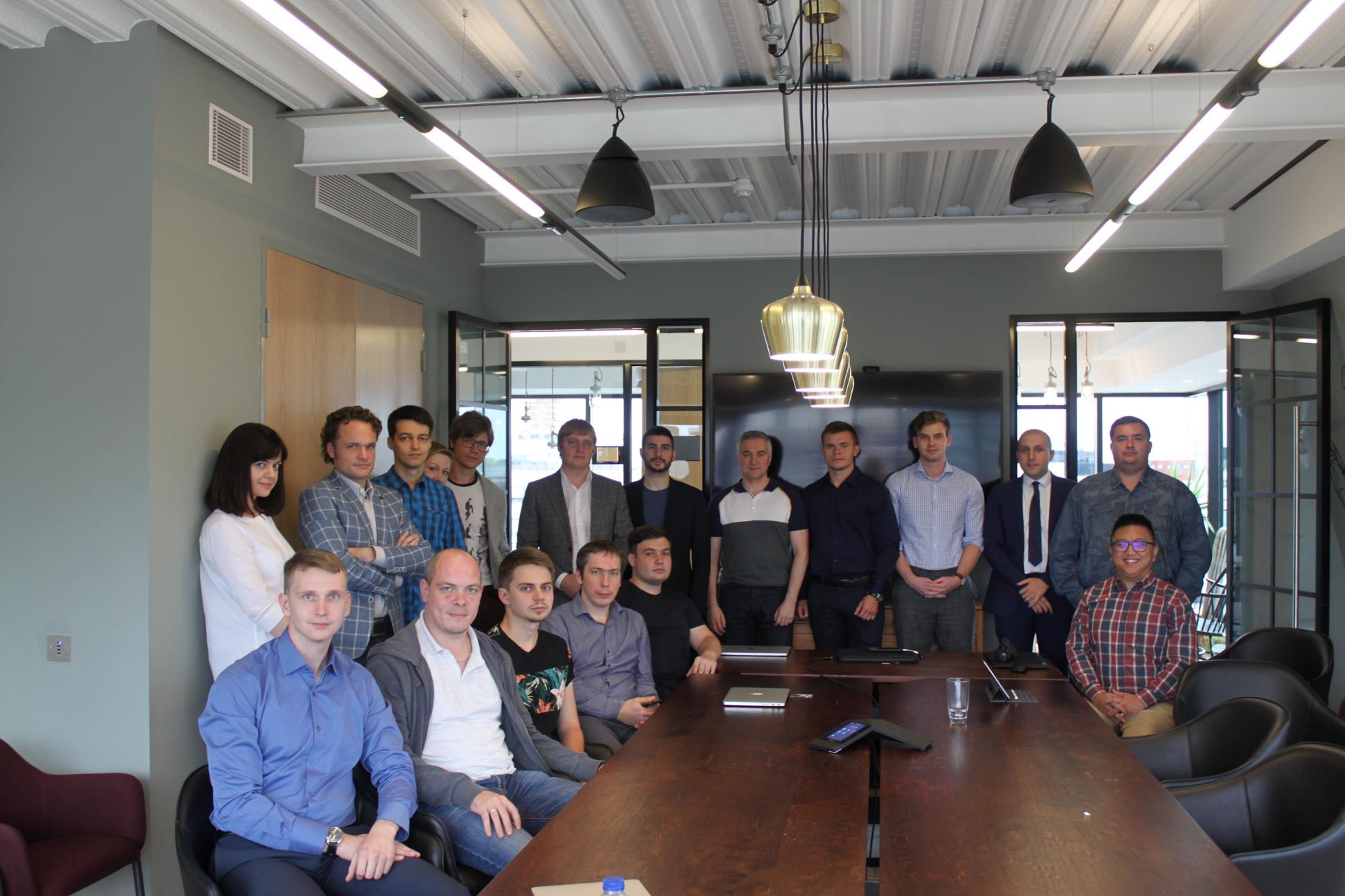 Humaniq developers team