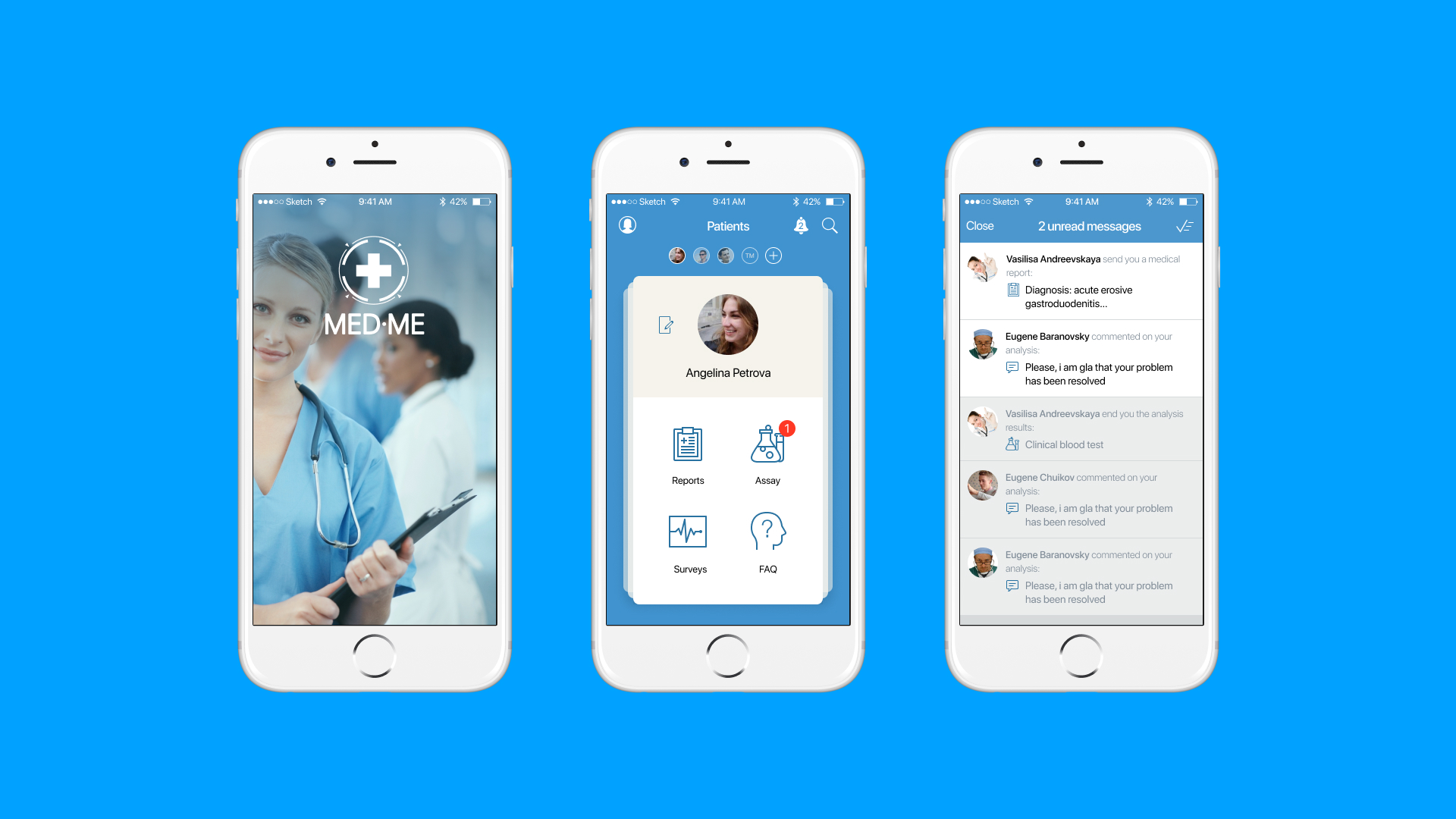 healthcare mobile application example